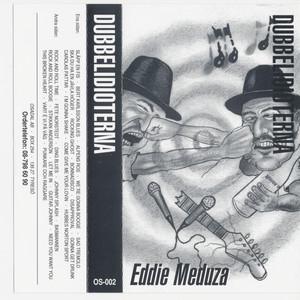 Dubbelidioterna (Eddie Meduza & E. Hitler fånar sig) Albumcover