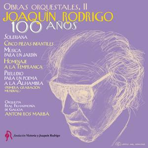 Joaquín Rodrigo. 100 Años. Obras Orquestales album