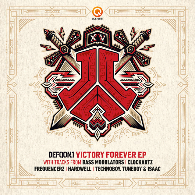 Album cover for Victory Forever EP by Various Artists