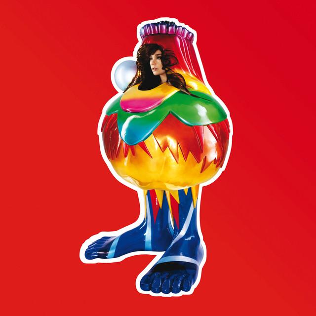 Skivomslag för Björk: Volta