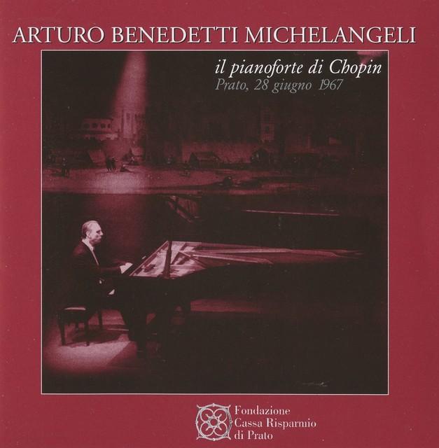 Michelangeli il pianoforte di Chopin Albumcover