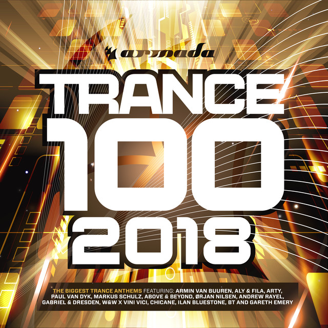 Album cover for Trance 100 - 2018 by Various Artists