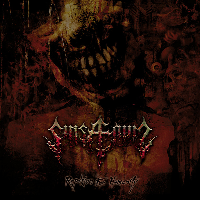 Album cover for Repulsion for Humanity by Sinsaenum
