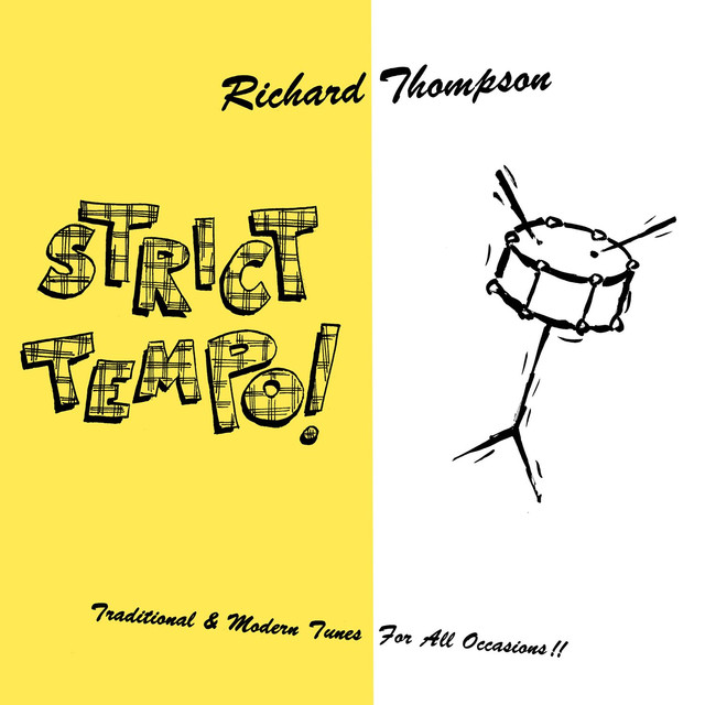 Richard Thompson Strict Tempo! album cover