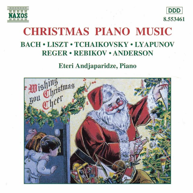 Christmas Piano Music Albumcover