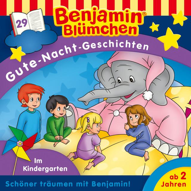 Gute-Nacht-Geschichten - Folge 29: Im Kindergarten Cover