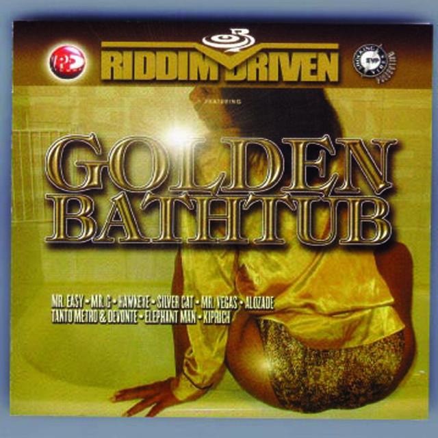 Various Artists Riddim Driven: Golden Bathtub album cover