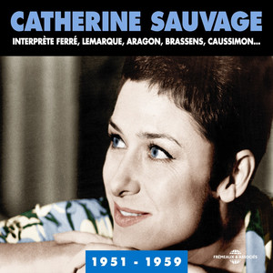 Catherine Sauvage La belle amour cover