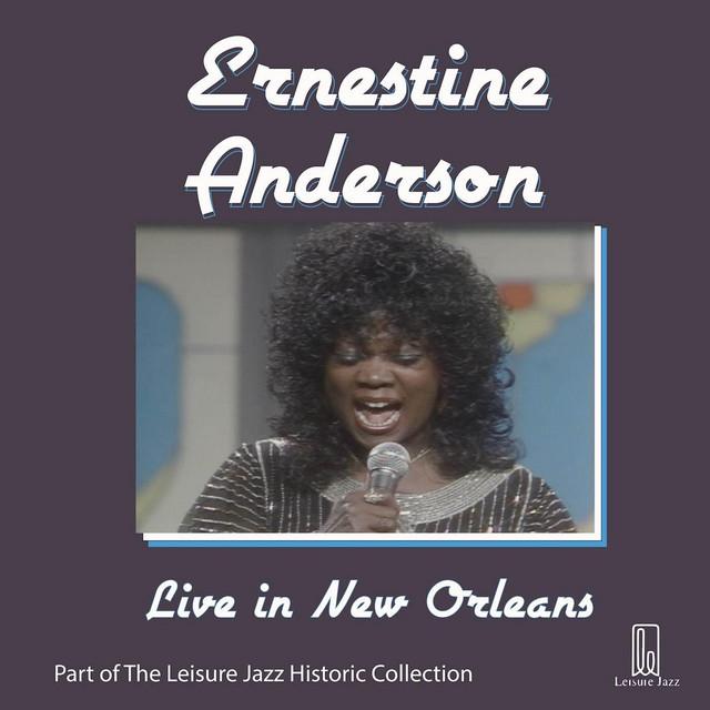 Ernestine Anderson Live in New Orleans album cover