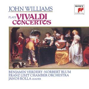 John Williams Plays Vivaldi Concertos album