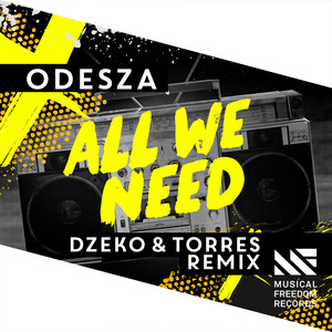 All We Need feat. Shy Girls (Dzeko & Torres Remix)