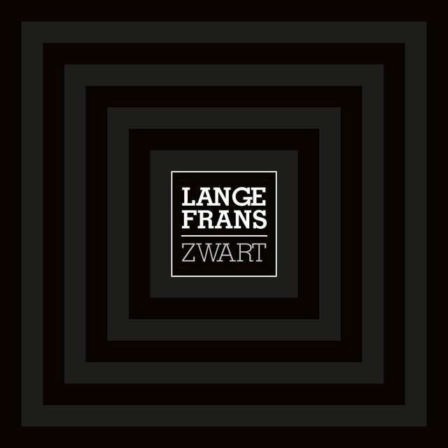 Album cover for Zwart by Lange Frans