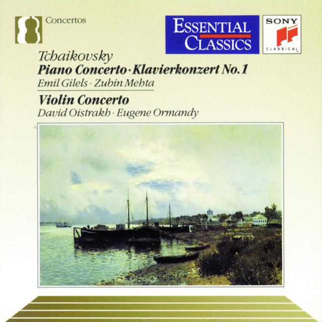 Tchaikovsky: Piano Concerto No. 1 & Violin Concerto Albumcover