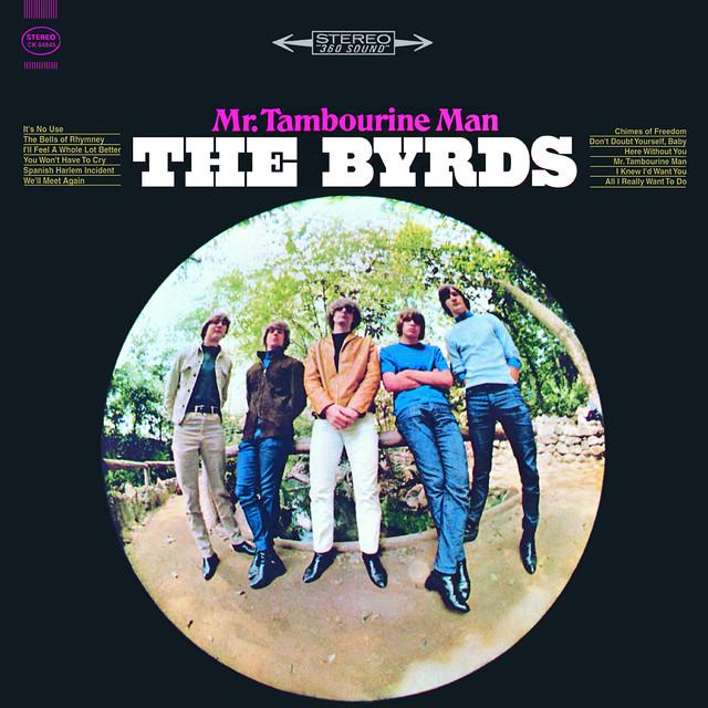 The Byrds Mr. Tambourine Man album cover
