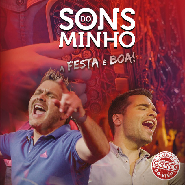 Album cover for A Festa É Boa by Sons do Minho