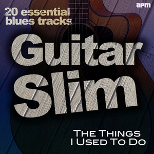 The Things I Used to Do - 20 Essential Blues Tracks album