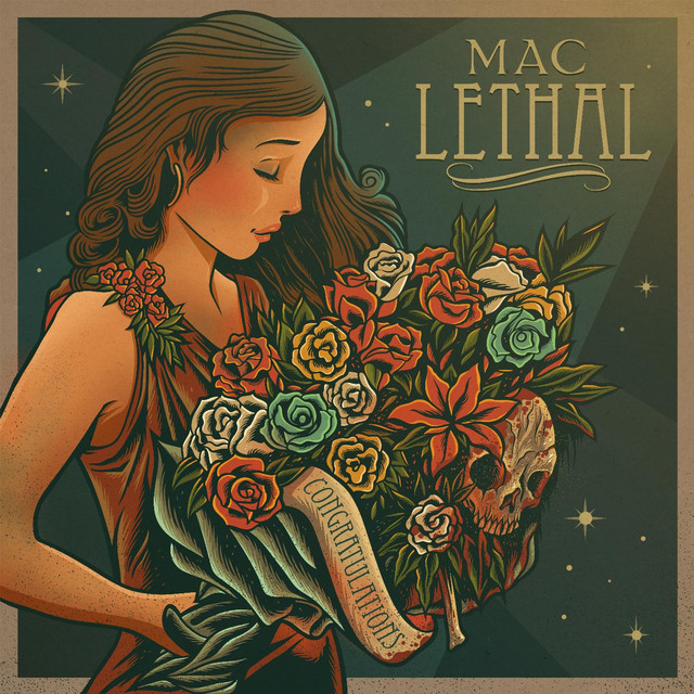 Album cover for Congratulations by Mac Lethal