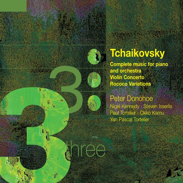 Tchaikovsky: Piano Concertos Albumcover