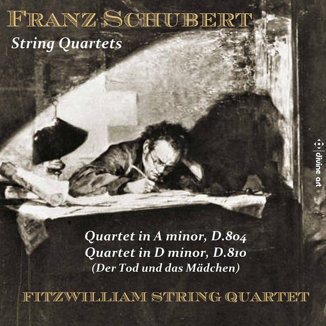 Album cover for Schubert: String Quartets by Franz Schubert, Fitzwilliam Quartet