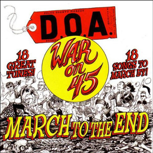 War on 45: March to the End album