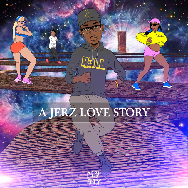 Album cover for A JERZ Love Story EP by R3LL