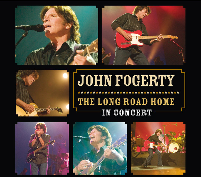 John Fogerty The Long Road Home: In Concert album cover