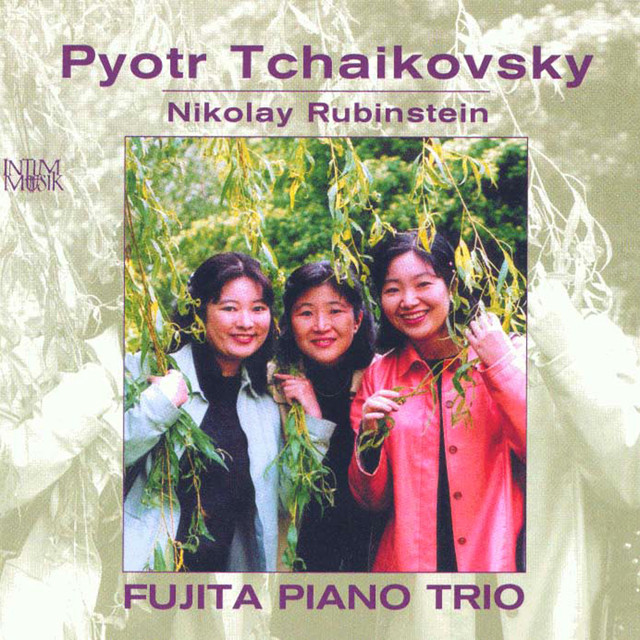 Tchaikovsky: Piano Trio - Rubinstein: Polka morceau de concert - Bolero - Morceau de salon Albumcover