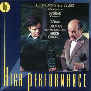 Tchaikovsky & Sibelius Violin Concertos/Dvorák: Romance Albumcover
