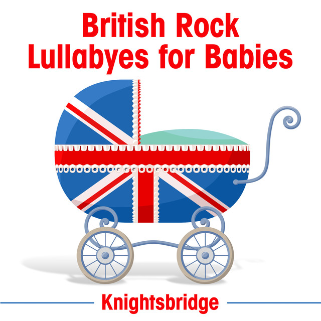 British Rock Lullabyes for Babies Albumcover