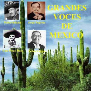 Grandes Voces de Mexico Albumcover