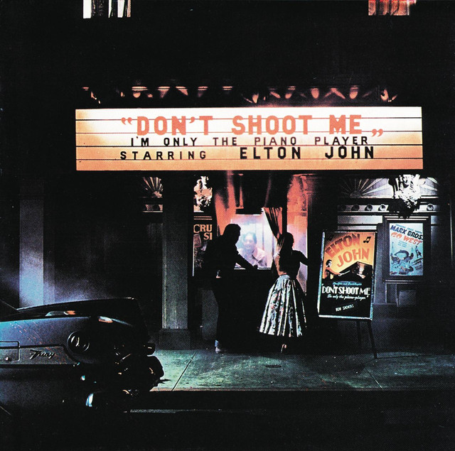 Elton John Don't Shoot Me I'm Only The Piano Player album cover