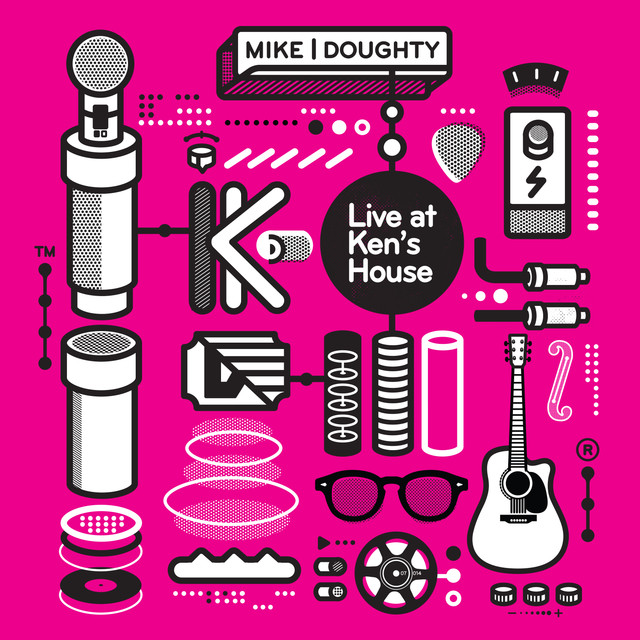 Mike Doughty Live at Ken's House album cover