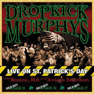 Live On St. Patrick's Day Albumcover