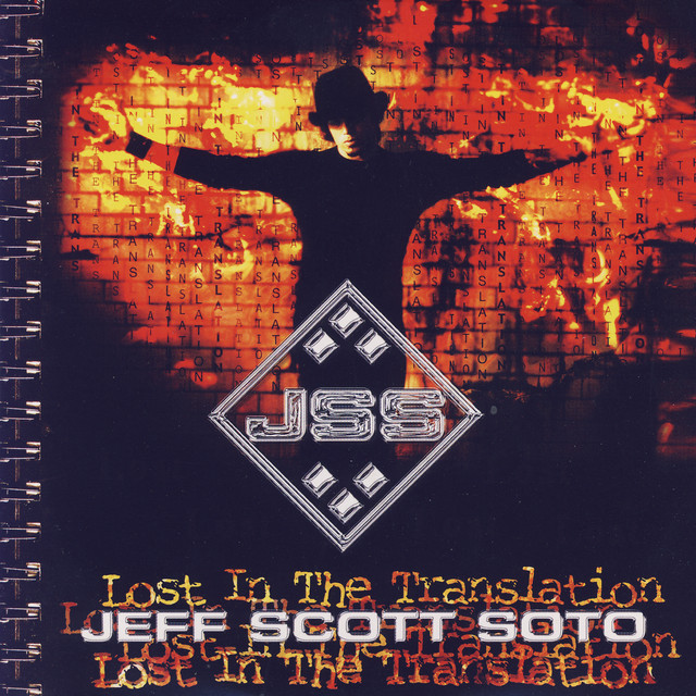 Jeff Scott Soto Lost in the Translation album cover