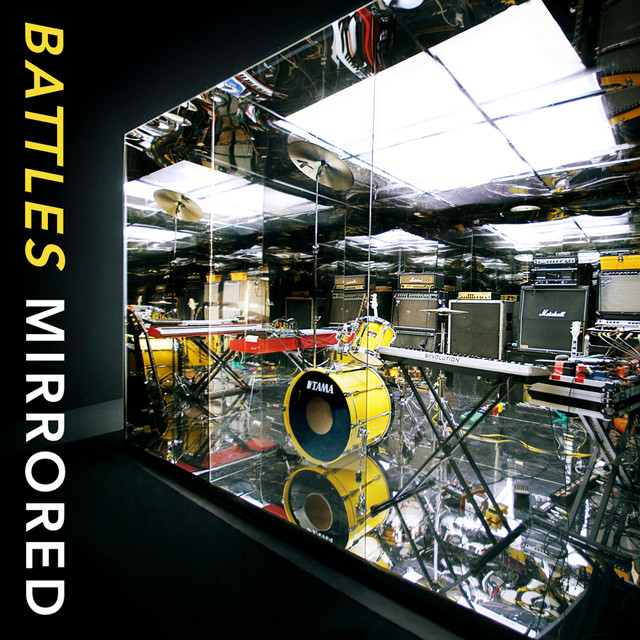 Album cover for Mirrored by Battles