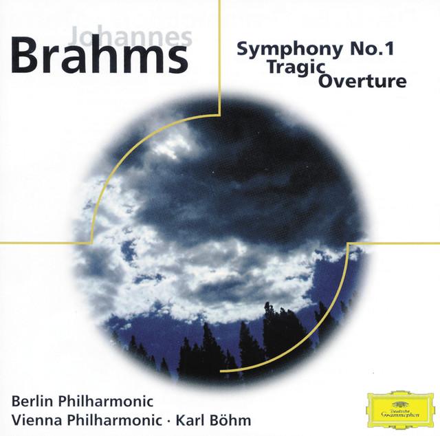 Brahms: Symphony No.1, op.68; Tragic Overture, op.81 Albumcover