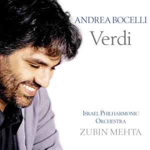Andrea Bocelli - Verdi Albumcover