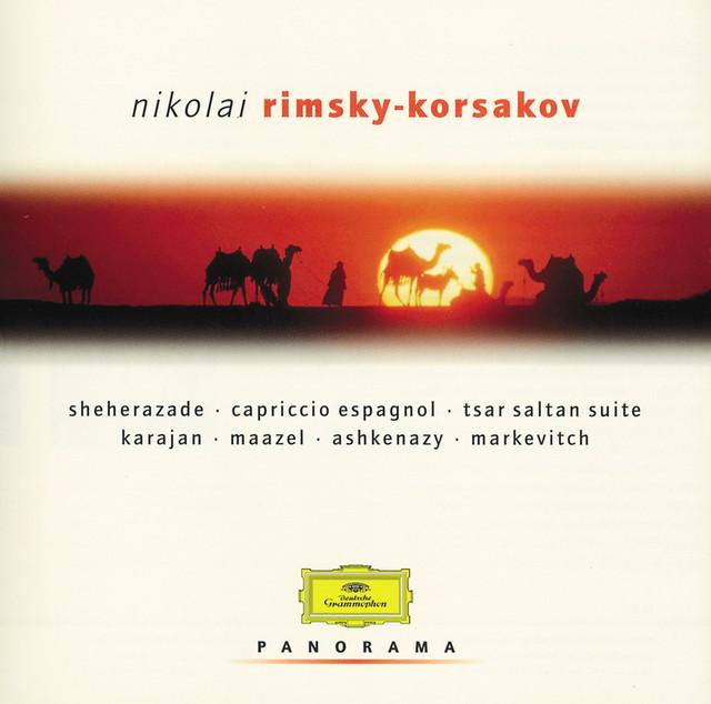Rimsky-Korsakov: Scheherazade etc. Albumcover