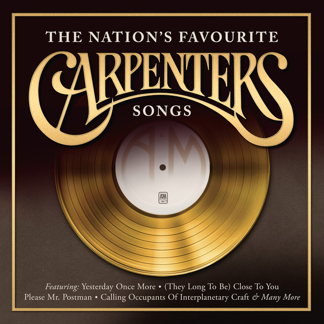Carpenters The Nation's Favourite Songs album cover