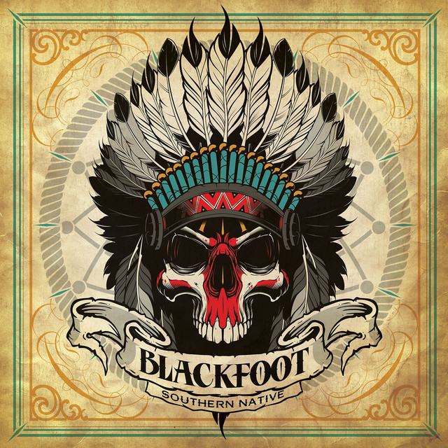Album cover for Southern Native by Blackfoot