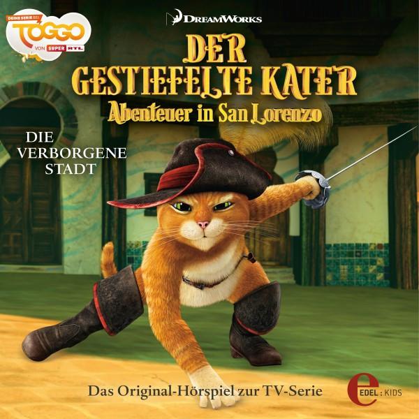 Folge 1: Die verborgene Stadt (Das Original-Hörspiel zur TV-Serie) Cover