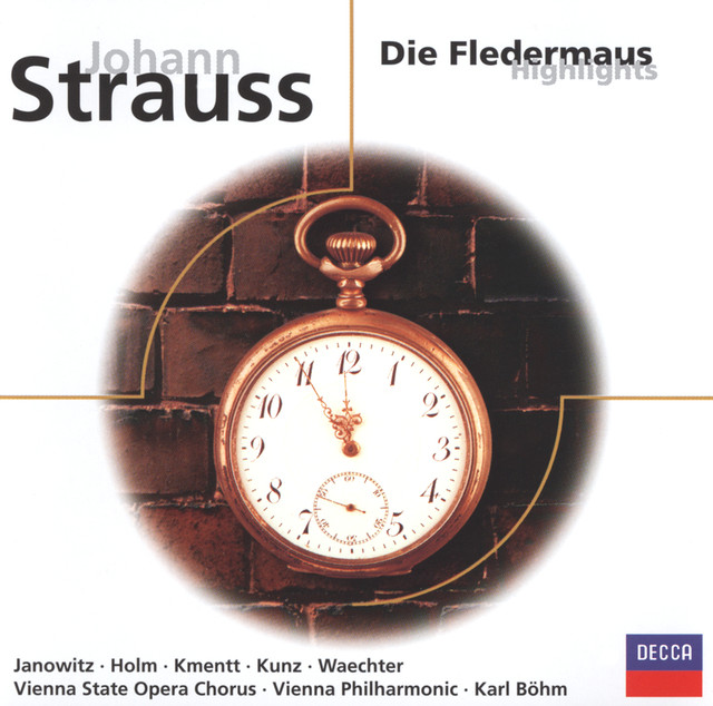 Strauss, J. II: Die Fledermaus - highlights Albumcover