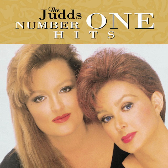 The Judds Number One Hits album cover