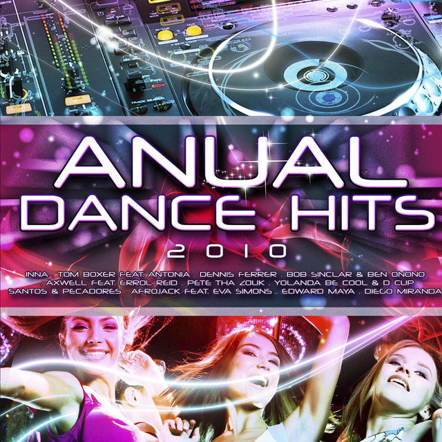 Various Artists Anual Dance Hits 2010 album cover