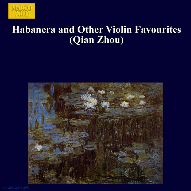 Habanera and Other Violin Favourites Albumcover
