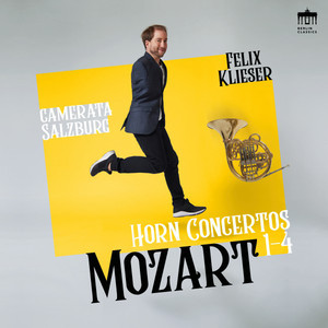 Mozart: Horn Concertos 1-4 Albümü