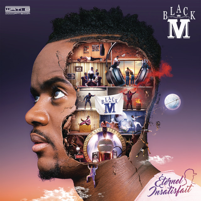 Album cover for Éternel insatisfait by Black M