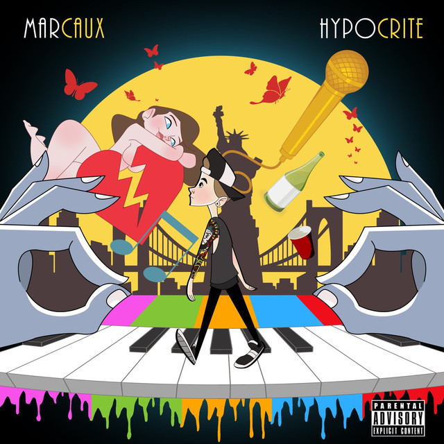 Album cover for Hypocrite by Marcaux
