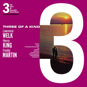 Lawrence Welk, Henry King, Freddy Martin Josephine cover