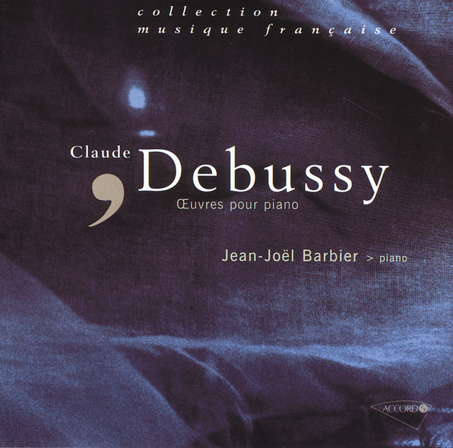 Debussy - Oeuvres pour piano Albumcover